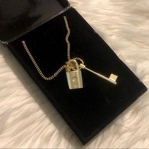 Victoria's Secret Scandalous Lock and Key Necklace